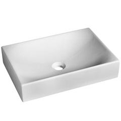Cuba de Apoio para Banheiro Quattro 50,5x35,5cm Branca - Incepa