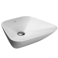 Cuba de Apoio para Banheiro Trapezoidal Branca 36,5x40cm - Deca