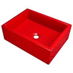 Cuba de Apoio Rubi 40x30cm Vermelha - Venturi