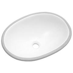 Cuba de Embutir Oval 49x36cm Branca - Icasa