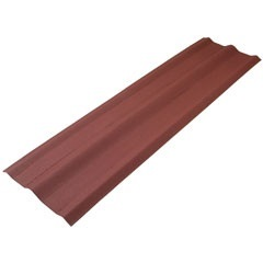 Cumeeira Universal Vermelha 2,00x0,52m - Onduline