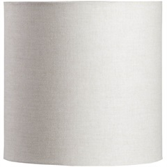 Cúpula Cilíndrico Lisa Bege 20cm - LS Ilumina