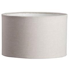 Cúpula Cilíndrico Lisa Bege 24cm - LS Ilumina