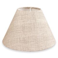Cúpula Cônica Textura 35x24cm Bege - Casa Etna