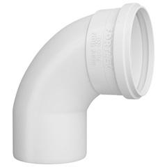 Curva 90° em Pvc para Esgoto Curta 50mm Branca - Fortlev
