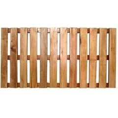 Deck em Madeira Eucalipto 100x50cm Natural - Casa UD