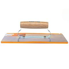Desempenadeira de Aço com Borracha para Rejuntamento 12x27cm Ref. 223 - Castor