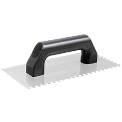 Desempenadeira em Aço Cabo Plástico para Pastilha de Vidro 26x12cm - Cortag