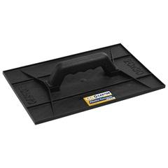 Desempenadeira em Plástico Corrugado Preta 20x30cm - Castor