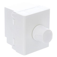 Dimmer Rotativo 300w 110v Módulo Duplo Lunare Branco - Schneider