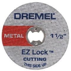 "Disco de Corte em Metal para Microrretífica 1.1/2"" Cinza - Dremel"