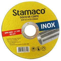 Disco de Corte para Inox 115x1x22,23mm - Stamaco