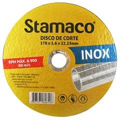 Disco de Corte para Inox 178x22,23mm - Stamaco