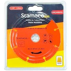 Disco de Corte para Madeira 4.3/8'' Laranja - Stamaco
