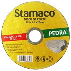 Disco de Corte para Pedra 115x20mm - Stamaco