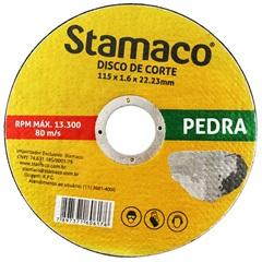 Disco de Corte para Pedra 115x22,23mm - Stamaco