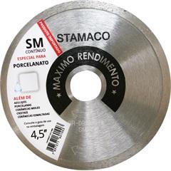 """Disco de Corte para Porcelanato Sm Pró 4,5"""" Cromado - Stamaco"""