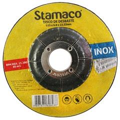 Disco de Desbaste para Inox 115x22,23mm - Stamaco