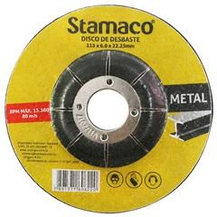 Disco de Desbaste para Metal 115x22,23mm - Stamaco