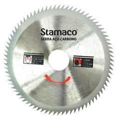 """Disco de Serra em Aço Carbono Serramax 105mm (4.3/8"""") com 80 Dentes - Stamaco"""