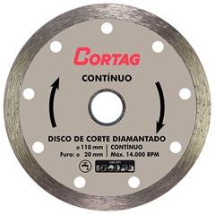 Disco Diamantado Contínuo 110mm