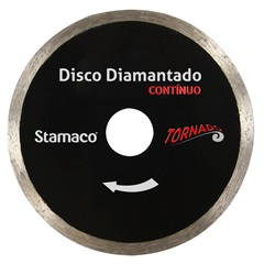 """Disco Diamantado Contínuo Tornado Corte a Seco 4"""" - Stamaco"""