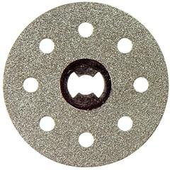 """Disco Diamantado para Microrretífica 1.1/2"""" Cinza - Dremel"""