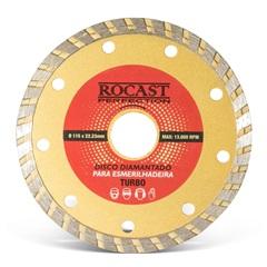 Disco Diamantado Perfection 4.1/2'' E 115mm - Rocast