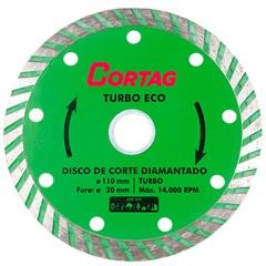 Disco Diamantado Turbo Eco 110mm - Cortag
