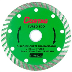 Disco Diamantado Turbo Eco 110mm - Cortag