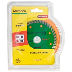 "Disco Diamantado Turbo Rayo Corte a Seco 4"" - Stamaco"