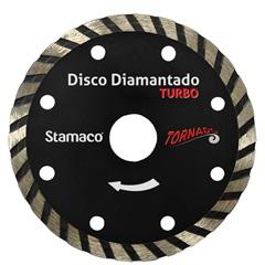 """Disco Diamantado Turbo Tornado Corte a Seco 4"""" - Stamaco"""
