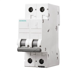 Disjuntor 2p Curva C 13a Branco - Siemens