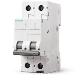 Disjuntor 2p Curva C 25a Branco - Siemens