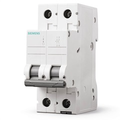 Disjuntor 2p Curva C 32a Branco - Siemens