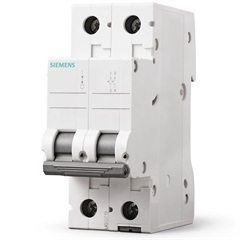 Disjuntor 2p Curva C 40a Branco - Siemens