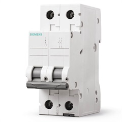 Disjuntor 2p Curva C 70a Branco - Siemens