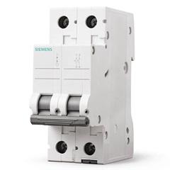 Disjuntor Bipolar Curva C 20a Branco - Siemens