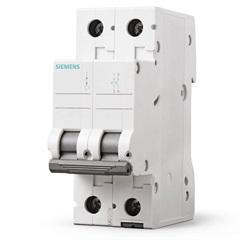 Disjuntor Bipolar Curva C 32a Branco - Siemens