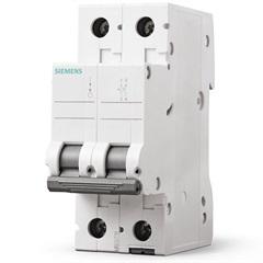 Disjuntor Bipolar Curva C 40a Branco - Siemens