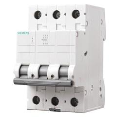 Disjuntor Din 3ka Curva C 13a 3p Branco - Siemens