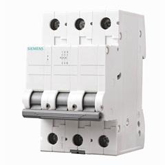 Disjuntor Din 3ka Curva C 70a 3p Branco - Siemens