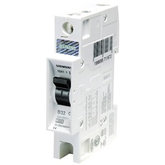 Disjuntor Din Curva B 16a 1p - Siemens