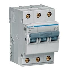 Disjuntor Eletromar 3p Curva C 16a 220/380v - Eletromar