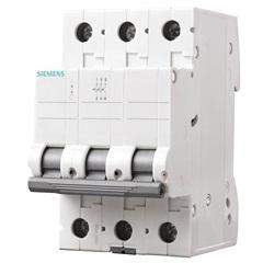 Disjuntor Tripolar Curva C 10a Branco - Siemens