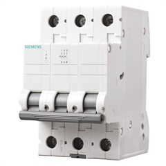 Disjuntor Tripolar Curva C 13a Branco - Siemens