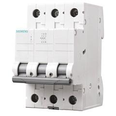 Disjuntor Tripolar Curva C 25a Branco - Siemens