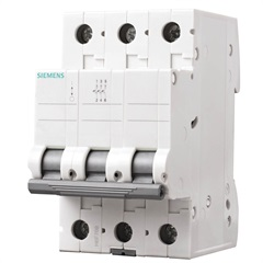 Disjuntor Tripolar Curva C 32a Branco - Siemens