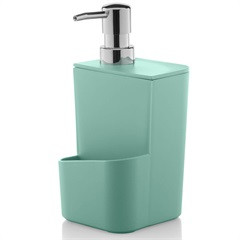 Dispenser para Detergente Trium 650ml Verde Menta - Martiplast