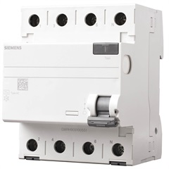 Dispositivo Dr 3p + Neutro Tipo Ac 63a Branco - Siemens